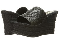 Sbicca Kersy Black Women's Wedge Shoes