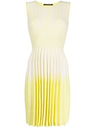 Antonino Valenti Striped Ombre Pleated Day Dress 60