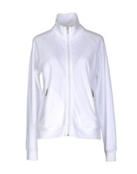 So Basic Fleecewear Zip Sweatshirts Women White