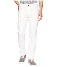 Agave Denim Tweed River Rinse Rocker Fit Jeans In White White