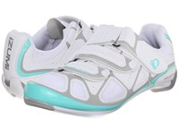 Pearl Izumi Select Rd Iv White Aqua Mint Women's Cycling Shoes