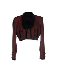 Dolce And Gabbana Suits And Jackets Blazers Women Maroon