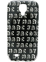 Marc By Marc Jacobs Logo Print Samsung Galaxy S4 Case Black