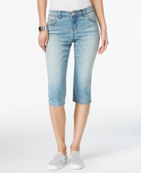 Inc International Concepts Regular Fit Cropped Leg Fairbanks Wash Jeans Only At Macy's