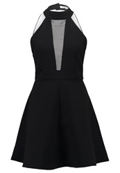 Morgan Rtessa Cocktail Dress Party Dress Noir Blanc Black