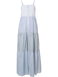 Sea Pleated Dress White