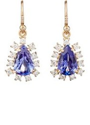 Irene Neuwirth Diamond Collection Women's White Diamond And Tanzanite Dr Colorless