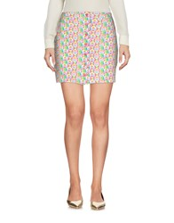 Agatha Ruiz De La Prada Mini Skirts Light Green