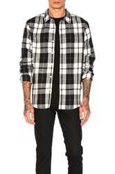 Stussy Norfolk Plaid Button Down Black