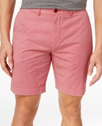 Tommy Hilfiger Men's Andrew Shorts Chili Pepper