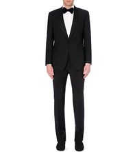 Richard James Wool And Mohair Blend Tuxedo Black