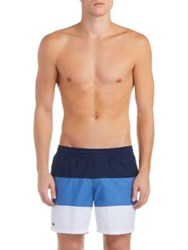 Lacoste Colorblock Classic Shorts Navy Blue