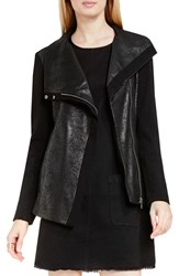 Vince Camuto Women's Two By Crackle Ponte Moto Jacket