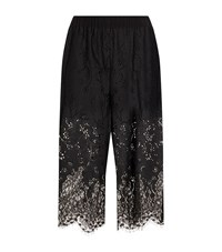 Pinko Lace Trim Trousers Female Black