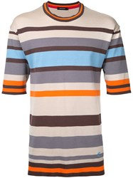 Loveless Striped T Shirt Multicolour