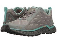The North Face Endurus Tr Moon Mist Grey Agate Green Women's Shoes Brown