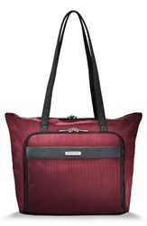 Briggs And Riley Men's Transcend 400 Tote Bag Red Merlot Red
