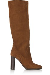 Jimmy Choo Honor Suede Knee Boots