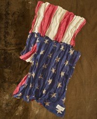 Denim And Supply Ralph Lauren Flag Print Scarf American Flag