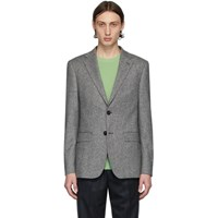 Harmony Grey Wool Blazer