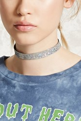 Forever 21 Iridescent Scale Choker