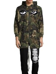 Haculla You See Nothing Camo Hooded Jacket