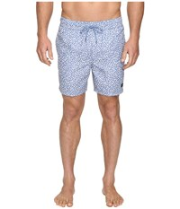 Jack Spade Confetti Print Swimwear Blue White Men's Swimwear