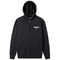 Undefeated Box Zip Hoody Black