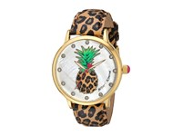 Betsey Johnson Bj00496 60 Pineapple Face Gold Watches