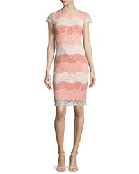 Erin Fetherston Lucienne Cap Sleeve Lace Sheath Cocktail Dress Women's