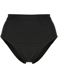 Suboo Chi Chi High Waisted Bikini Bottom Black