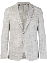 Hugo Boss Classic Tailored Blazer Nude And Neutrals
