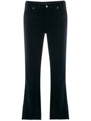 Fay Fringed Trim Flared Jeans 60