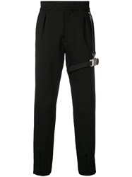 Alyx Bondage Track Trousers Black
