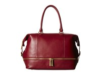Hobo Fast Lane Satchel Wine Satchel Handbags Burgundy