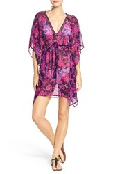 Tommy Bahama Women's 'Jacobean' Beaded Neck Cover Up Tunic