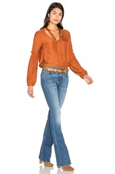 Somedays Lovin Canyon Blouse Rust