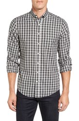 Gant Men's Regular Fit Tartan Plaid Twill Sport Shirt
