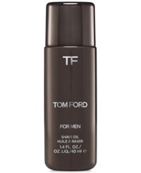 Tom Ford Shave Oil 1.3 Oz No Color
