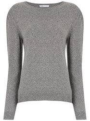 Spacenk Nk Cashmere Knitted Sweater Grey