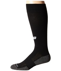 New Balance All Sport Over The Calf Tube Black Crew Cut Socks Shoes