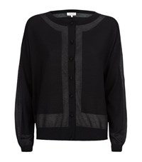 Paul And Joe Metallic Contrast Cardigan Female