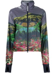 Adidas By Stella Mccartney Run Mountain Print Jacket