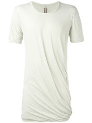 Rick Owens Draped T Shirt Grey
