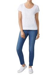 Pure Collection Cropped Jeans Mid Blue
