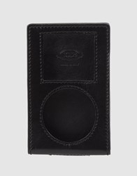 Tod's Hi Tech Accessories Black