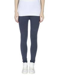 Emporio Armani Ea7 Trousers Leggings Women Slate Blue
