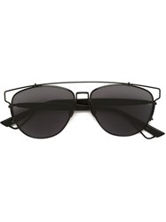 Christian Dior Dior Homme Cat Eye Frame Sunglasses Black