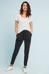 Saturday Sunday Dylan Cropped Joggers Black