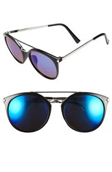 Women's Bp. 55Mm Oversize Mirrored Sunglasses